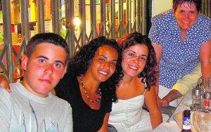 Koria,Silvia,David y yo
