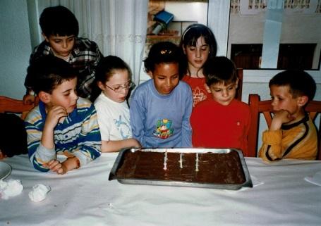 Cumple de Koria 3 años en España